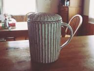 お気に入りのマグカップで、挽きたてのコーヒーを #深夜のこっそり話 #786