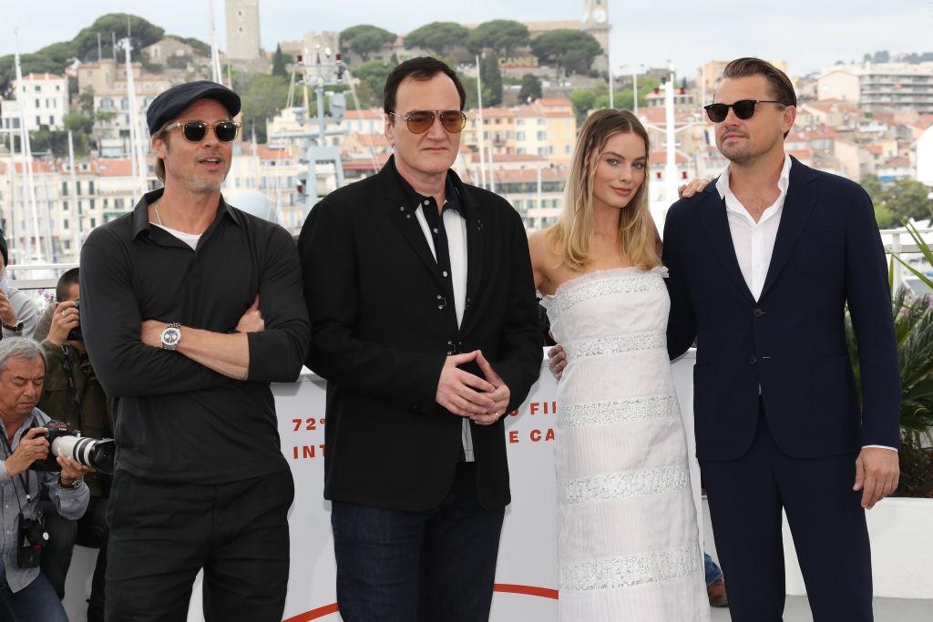 カンヌ国際映画祭に、レオナルド、ブラッド、クエンティン監督たちと出席したマーゴット。