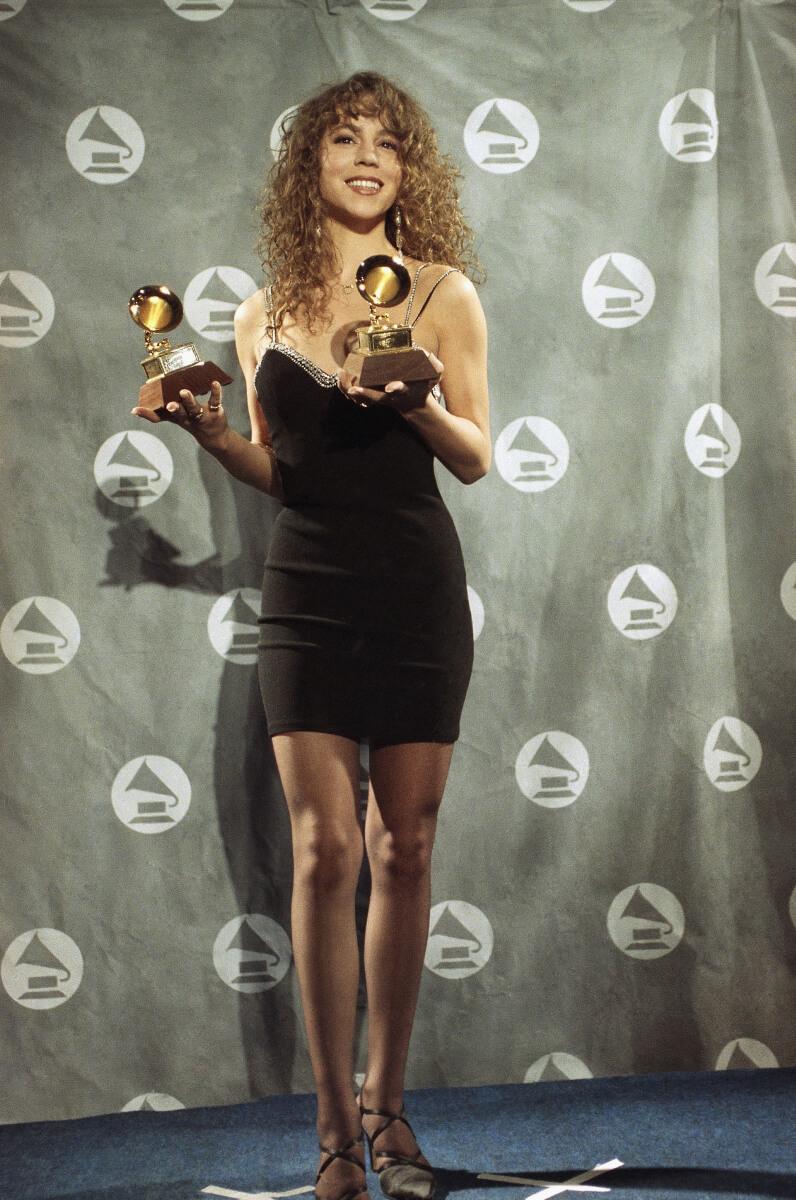 1990年にシングル『Vision of Love』で歌手デビューを果たした、マライア・キャリー。