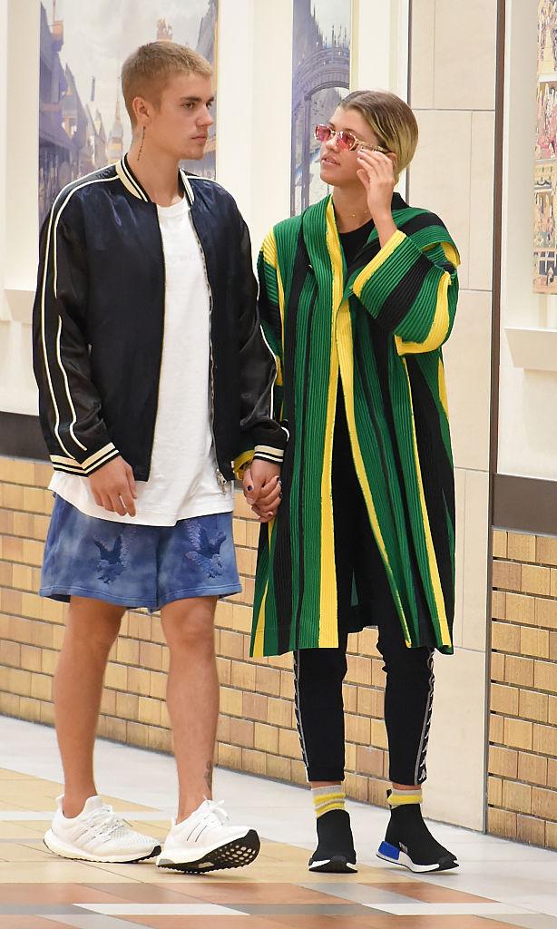 昨年8月にキャッチされたジャスティンとソフィアのデート現場 Photo:Getty Images