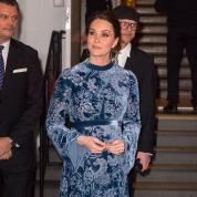 英王室のキャサリン妃、北欧への公式訪問で、愛国心溢れるマタニティスタイルを披露