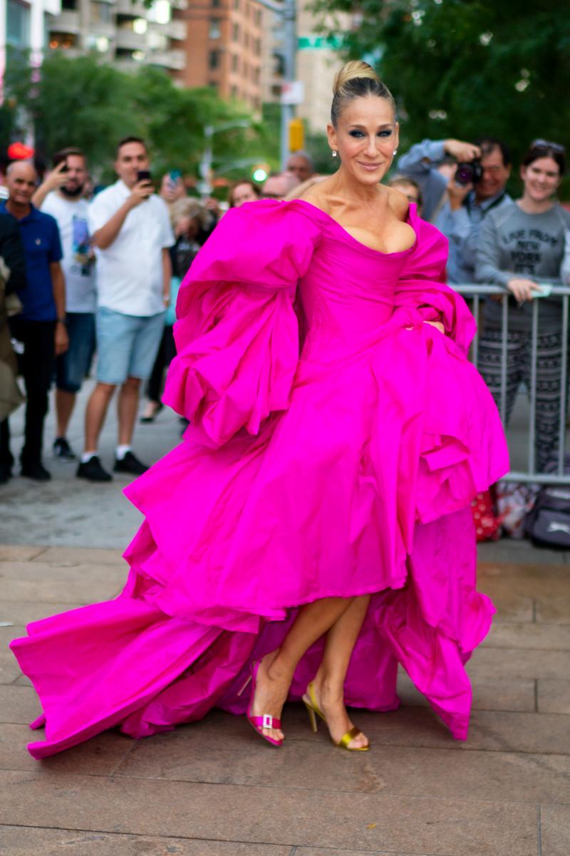 【NOW】ファッションイベントにキャリー・ブラッドショー現る?
