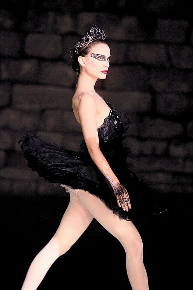 2010年、映画『ブラック・スワン』では約10キロ減量して役作りしたナタリー・ポートマン。