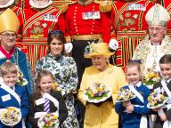 新婚のユージェニー王女、エリザベス女王との公務へ! イースター恒例のミサに参加