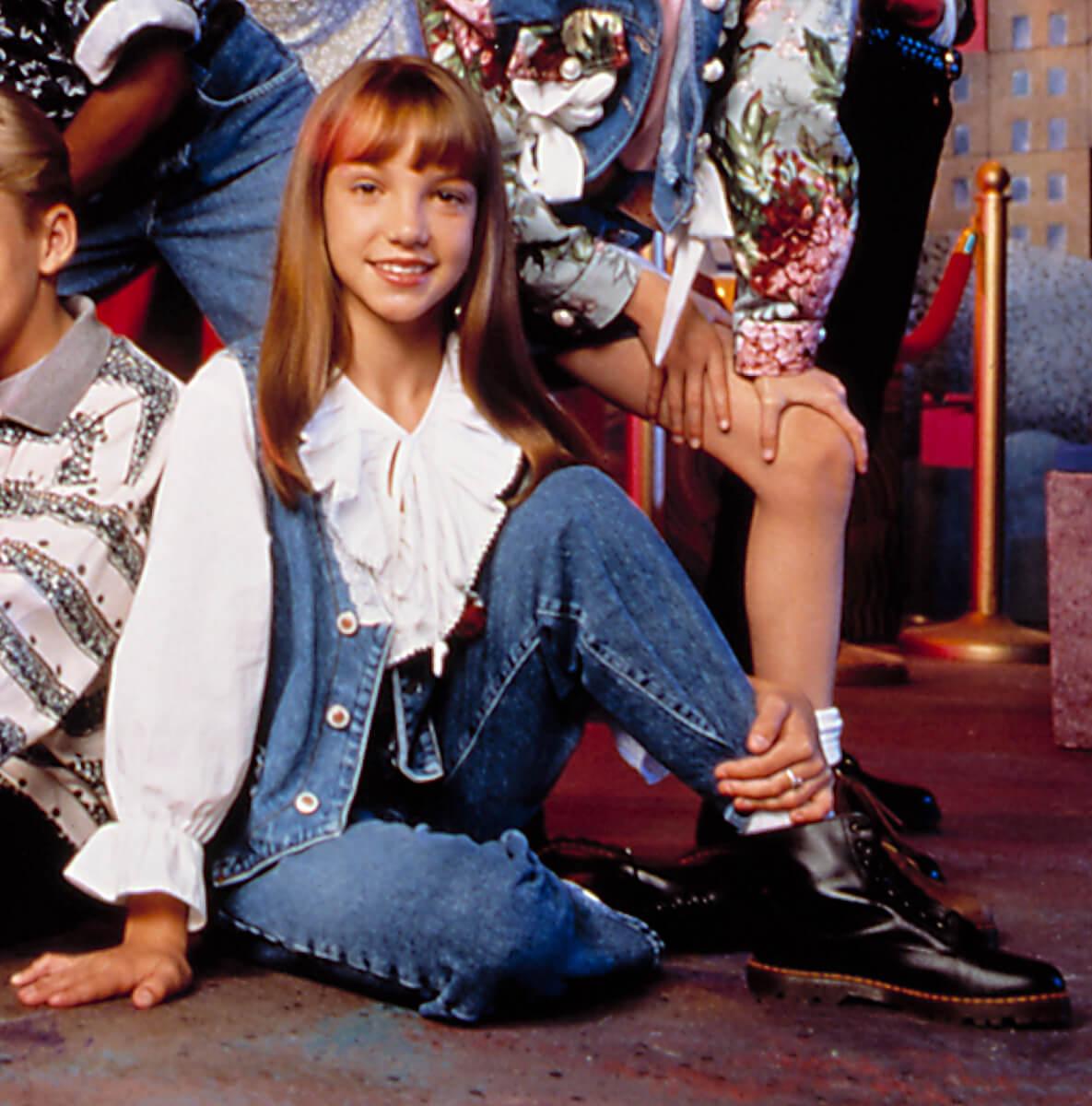 ディズニーチャンネルの人気番組『ミッキー・マウス・クラブ』に出演していたころのブリトニー・スピアーズ。