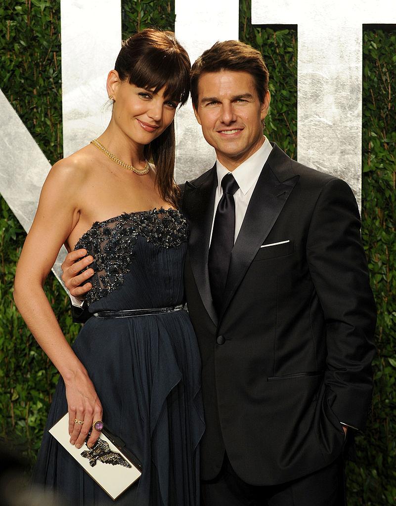 離婚前のケイティ・ホームズとトム・クルーズ Photo:Getty Images