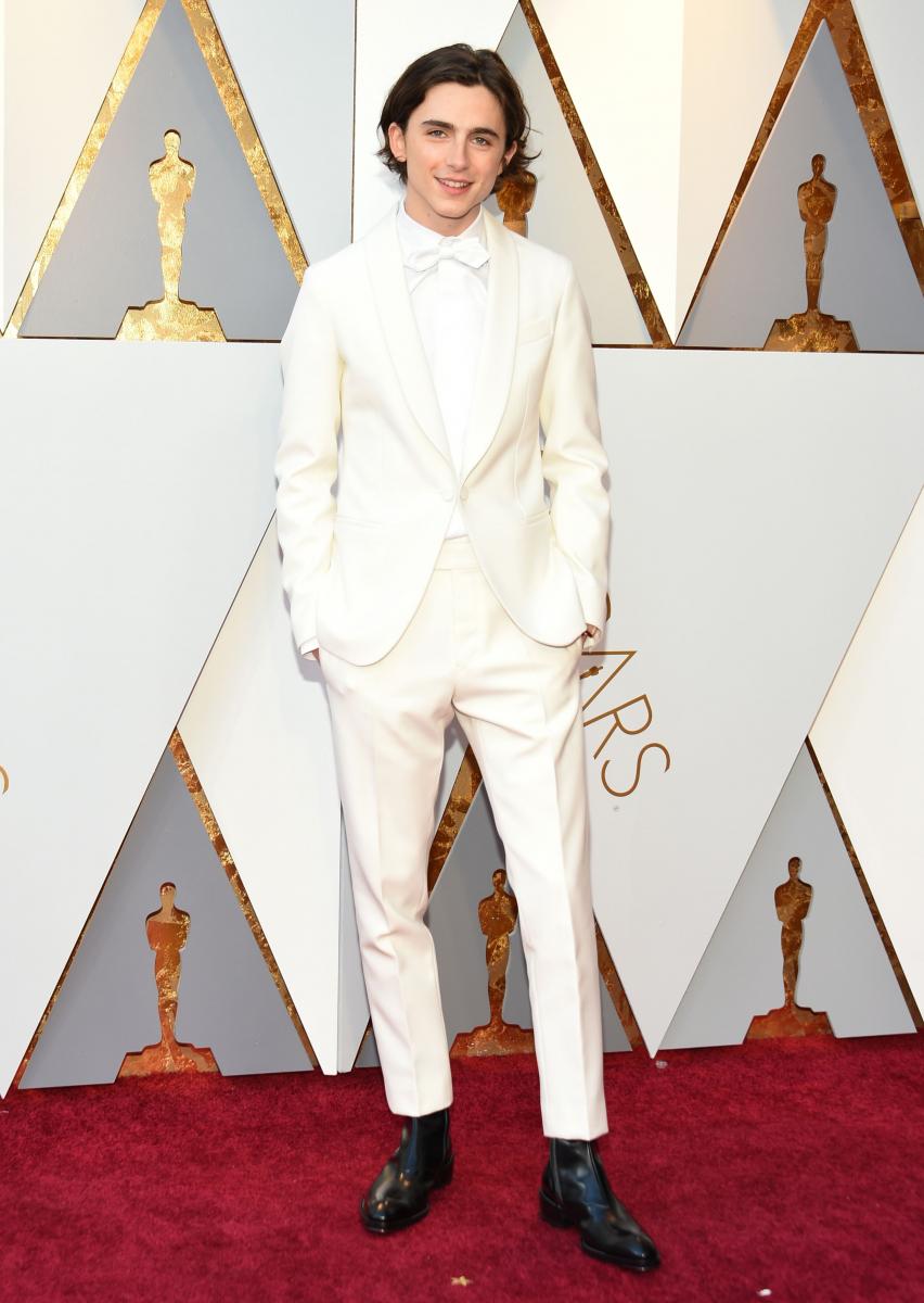 第90回アカデミー賞授賞式では、初の主演男優賞にノミネートされたティモシー。
