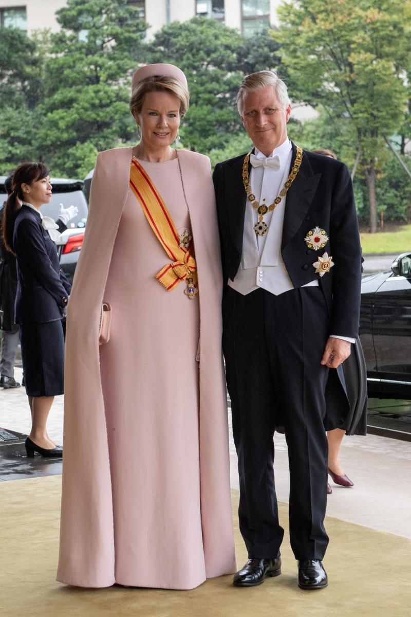 フィリップ国王(59)、マチルド妃(46)