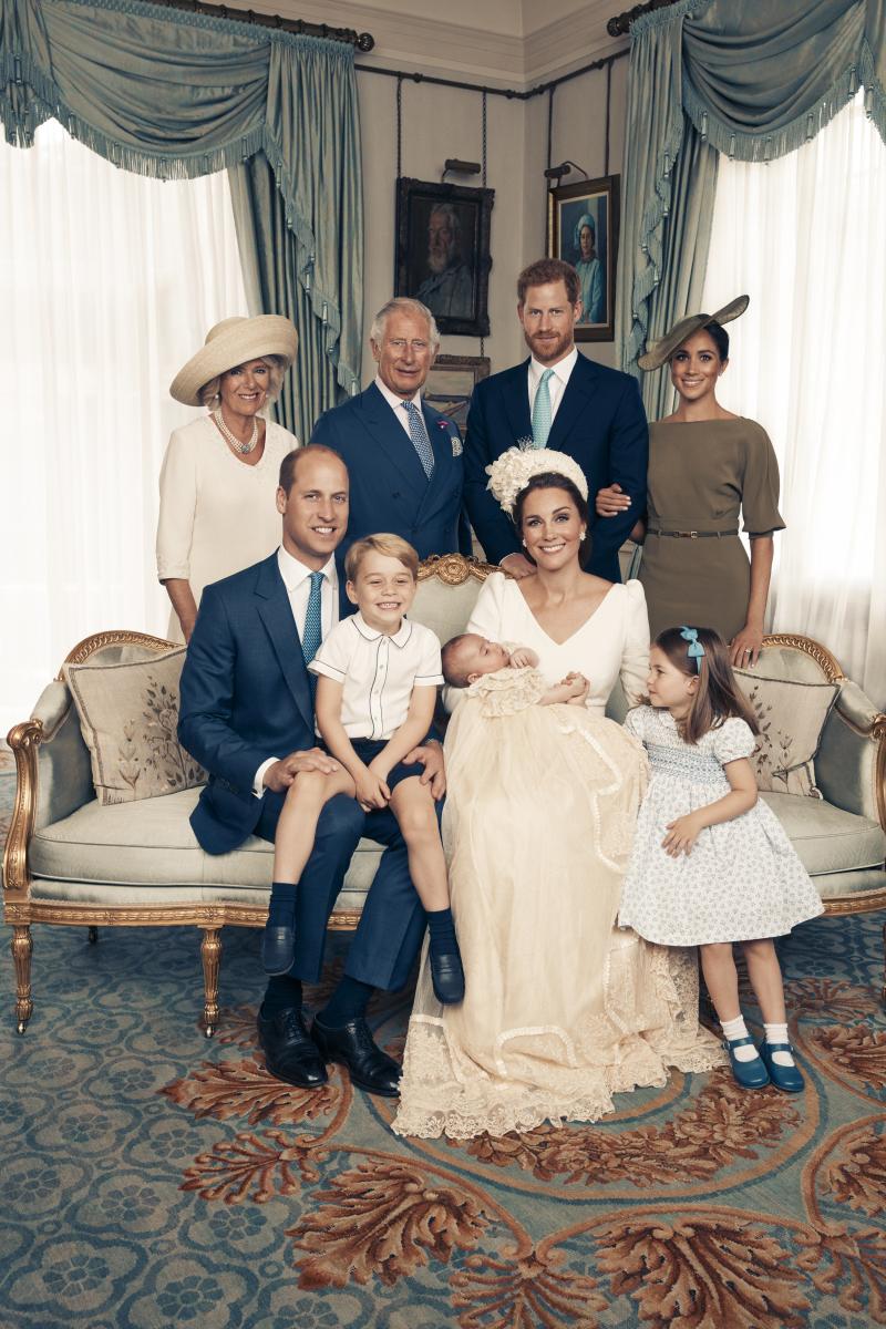 キャサリン妃の子どもたちが写った集合写真。