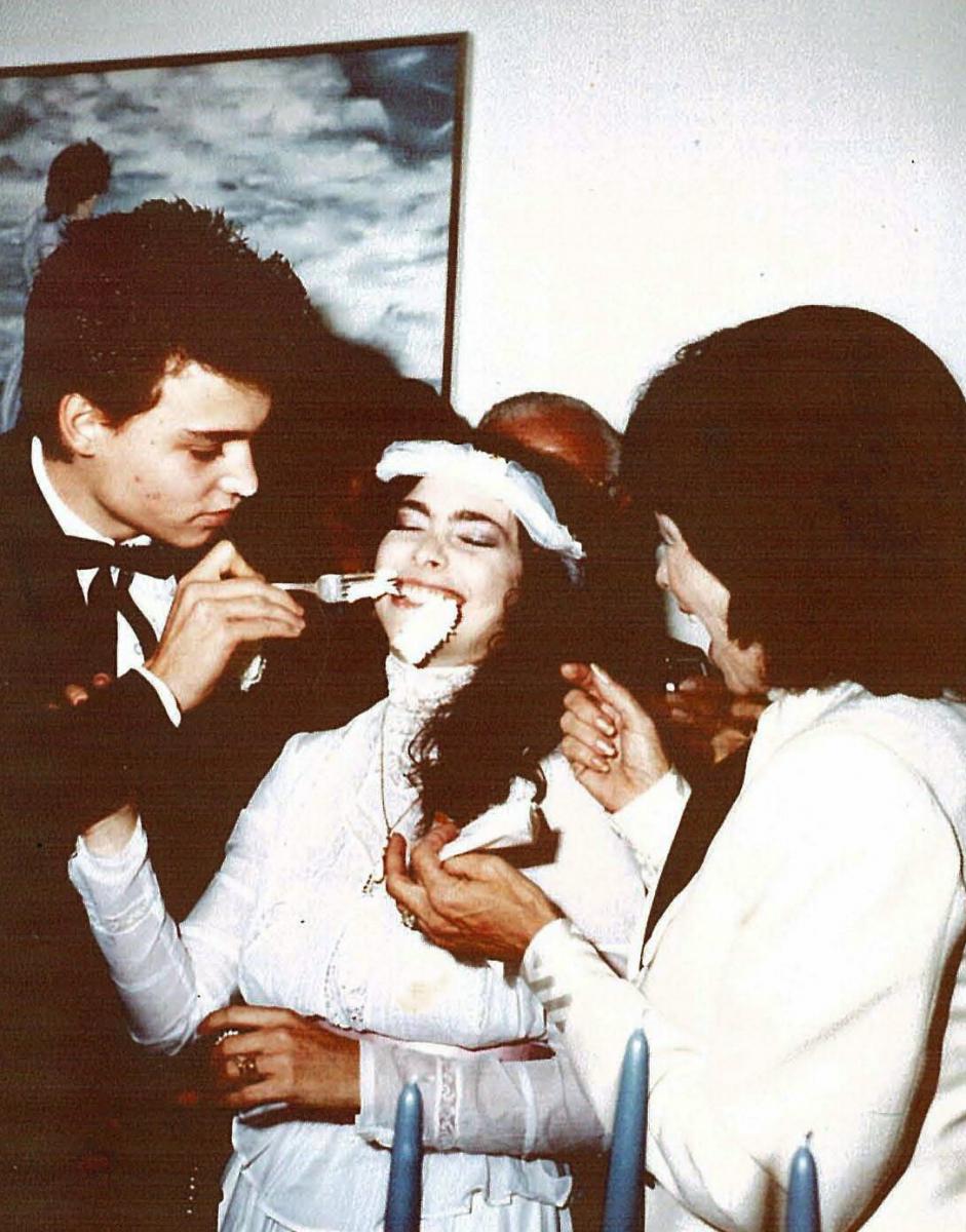 ジョニー・デップが20歳のときに結婚した相手が、ロリ・アン・アリソン。
