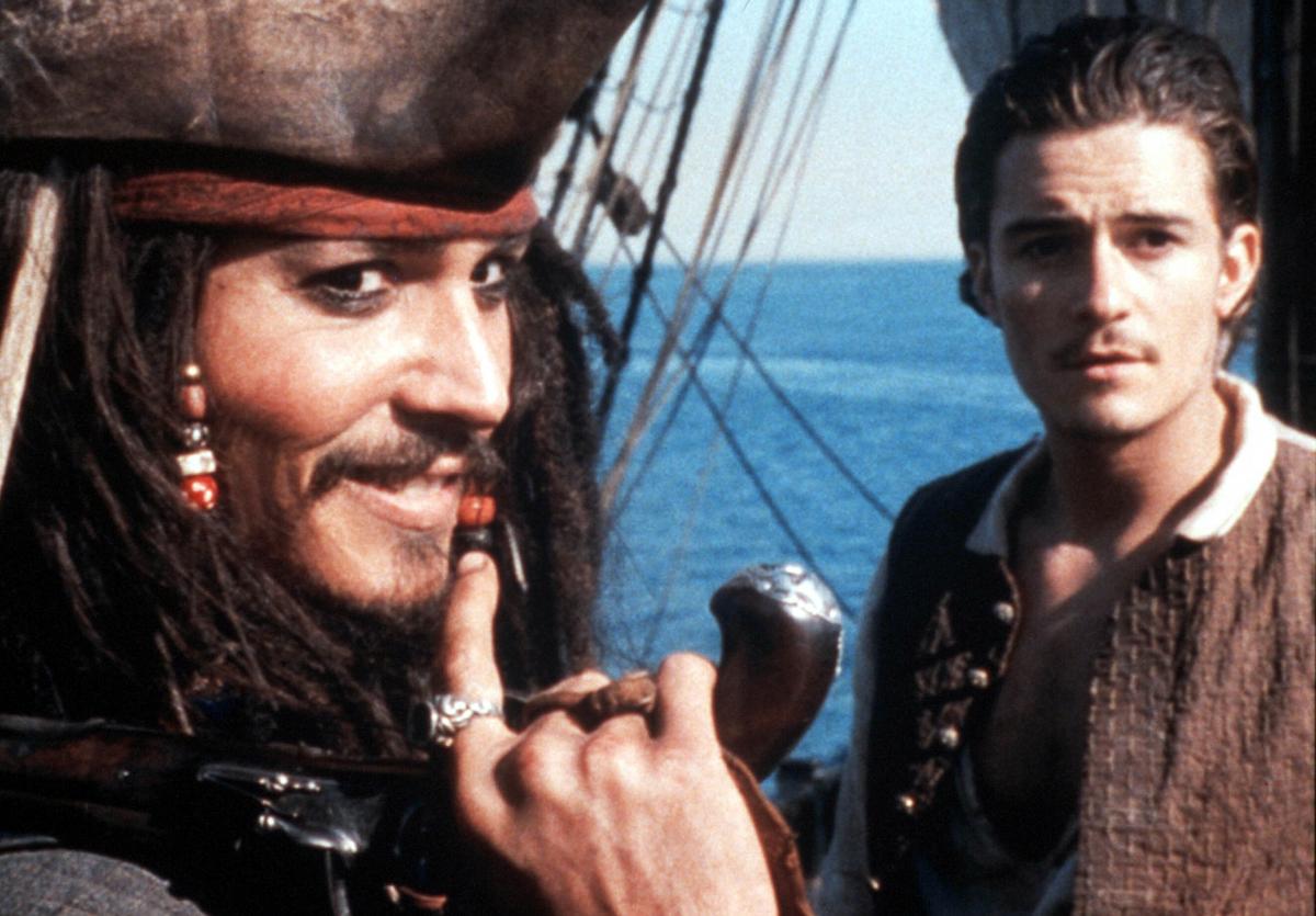 ジョニー・デップの出世作のひとつ、『パイレーツ・オブ・カリビアン/呪われた海賊たち』は2013年に公開された。