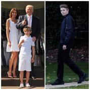 天使のようなベビーは、スタイル抜群の好青年に! ドナルド・トランプのハンサム息子バロン、14歳の誕生日を迎える