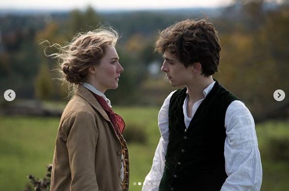 シアーシャとティモシーは、『若草物語』でメガホンをとったグレタ・ガーウィグ監督(35)の前作、『レディ・バード』でも共演している。