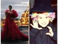 圧巻のドレス姿から、幼少期のお宝ショットまで! アン・ハサウェイ、『The Witches』の宣伝に一肌脱ぐ