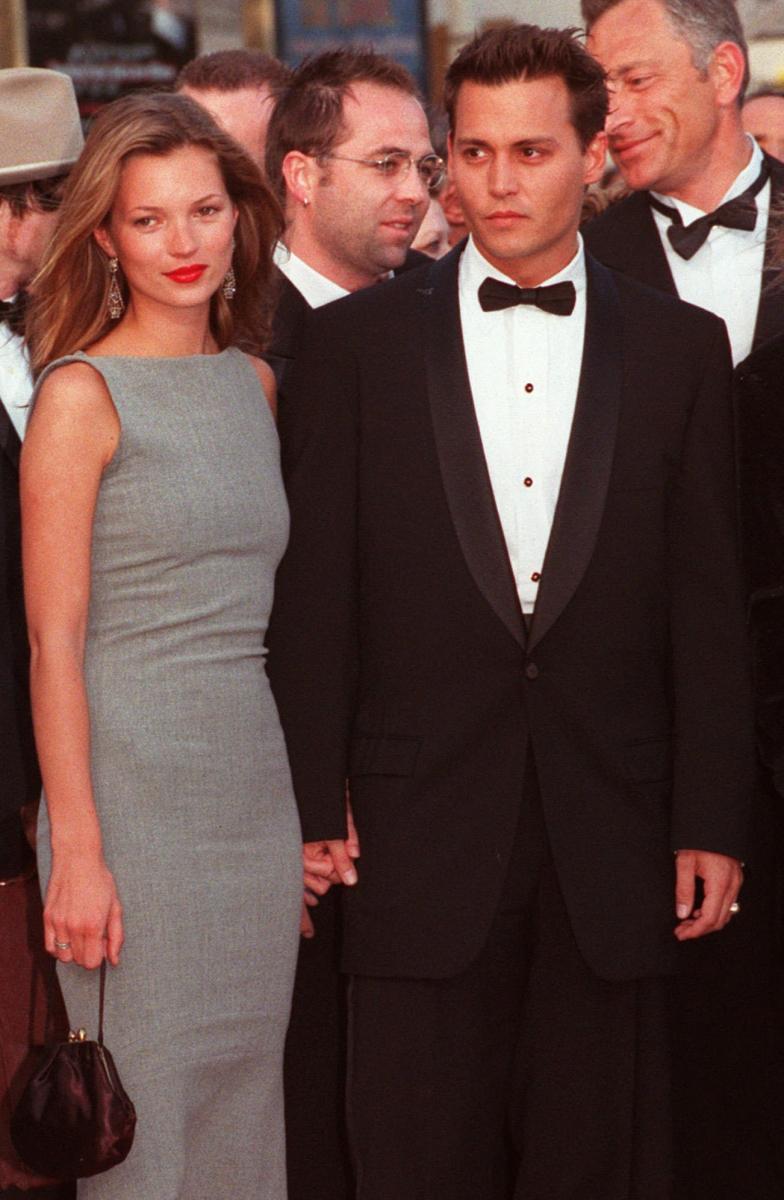 当時20歳のケイト・モスにひと目惚れしたジョニー・デップ。