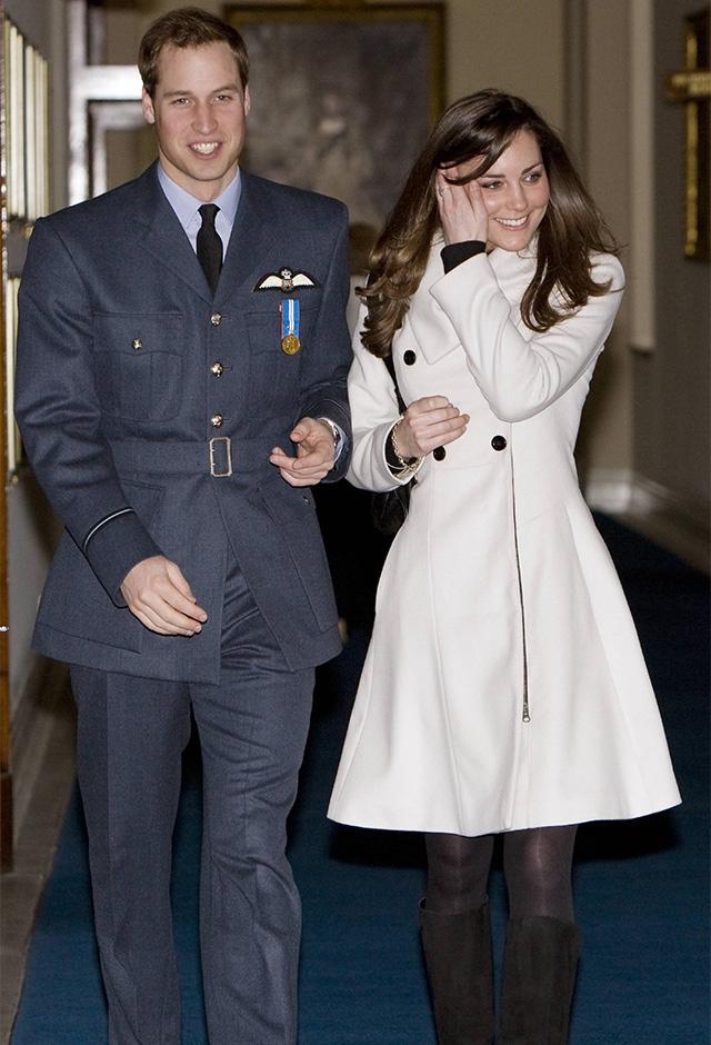 ウィリアム王子とは一度破局するもゴールインしたキャサリン妃。