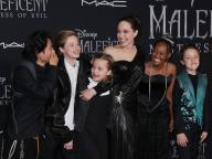 アンジェリーナ・ジョリー&子どもたちが大集結! はじける笑顔で『マレフィセント2』のワールドプレミアに登場