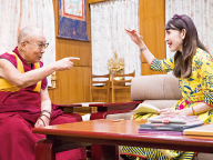 ダライ・ラマ14世スペシャルインタビュー藤田理麻のダラムサラ旅日誌