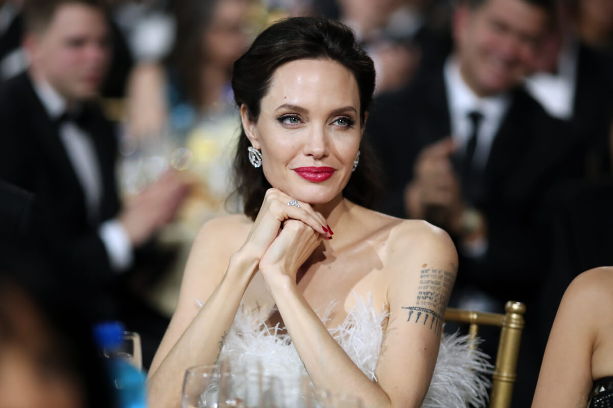 2018年発表の「世界で最も稼いだ女優ランキング」で推定年収2800万ドルで2位にランクインしたアンジェリーナ・ジョリー。