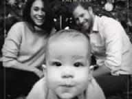 頬を膨らませたアーチーがカメラを独占! メーガン妃&ヘンリー王子一家のクリスマスカードが公開に