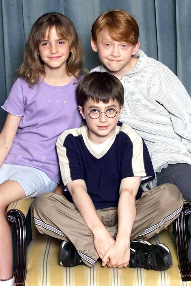 映画『ハリー・ポッター』シリーズで子役デビューしたエマ・ワトソン。