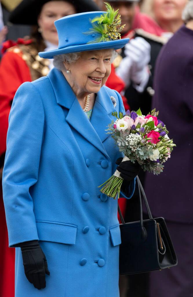 弱冠25歳で女王となったエリザベス2世。