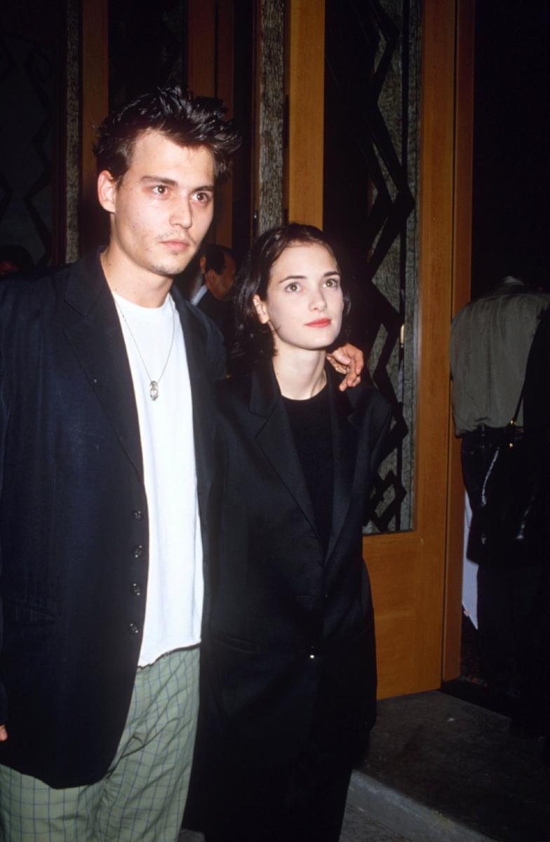 ウィノナ・ライダーとは、ジョニー・デップが28歳のときに交際していた。