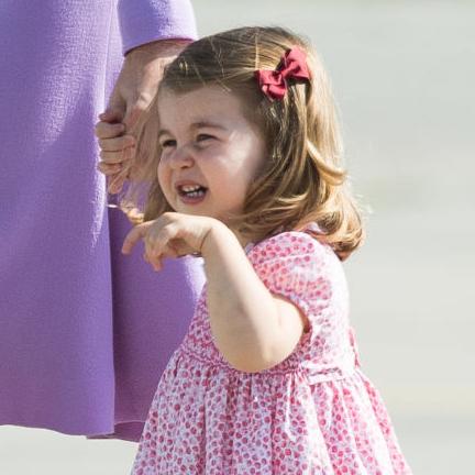 チャーミングな笑顔で世界中を魅了するプリンセス、シャーロットの好きな色とは⁉︎