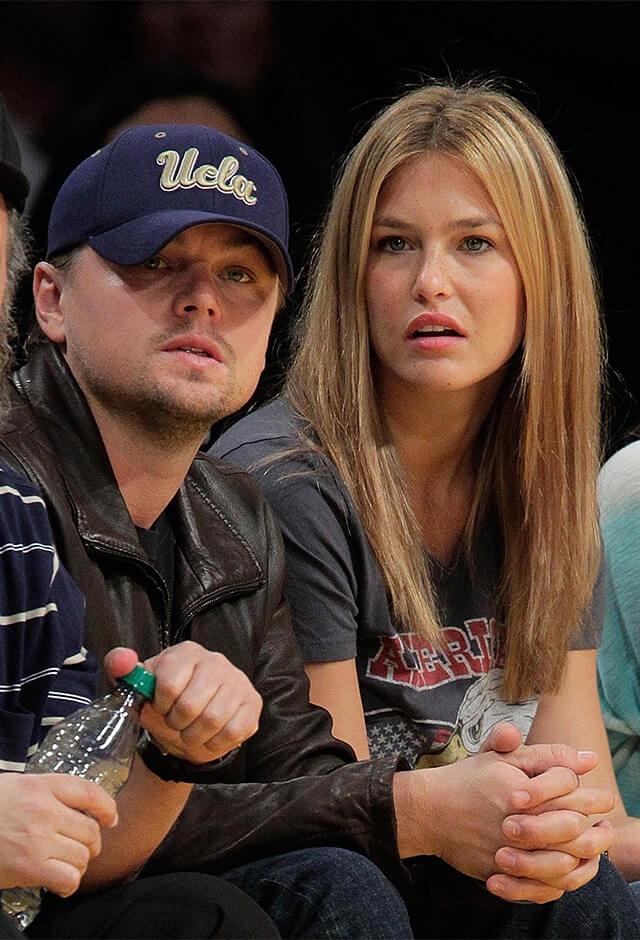 2005年から2011年にかけて交際していたレオナルド・ディカプリオとスーパーモデルのバー・ラファエリ。