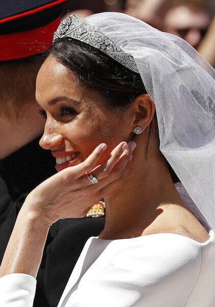 メーガン妃の指先を彩ったネイルは、エッシーのもの。