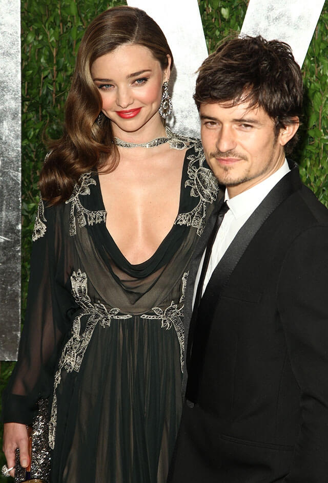 ミランダ・カーと2010年に結婚するも、2013年に離婚を発表したオーランド・ブルーム。