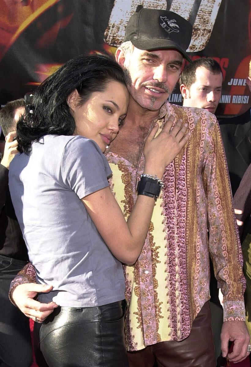 20歳年上の俳優ビリー・ボブ・ソーントンとは、わずか3年で結婚生活に幕を閉じたアンジェリーナ・ジョリー。