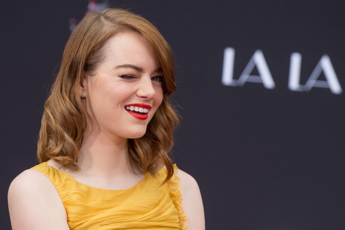 2017年に米経済誌『フォーブス』が発表した「世界で最も稼いだ女優」ランキングでは、推定年収2600万ドルで首位にランクインしたエマ・ストーン。