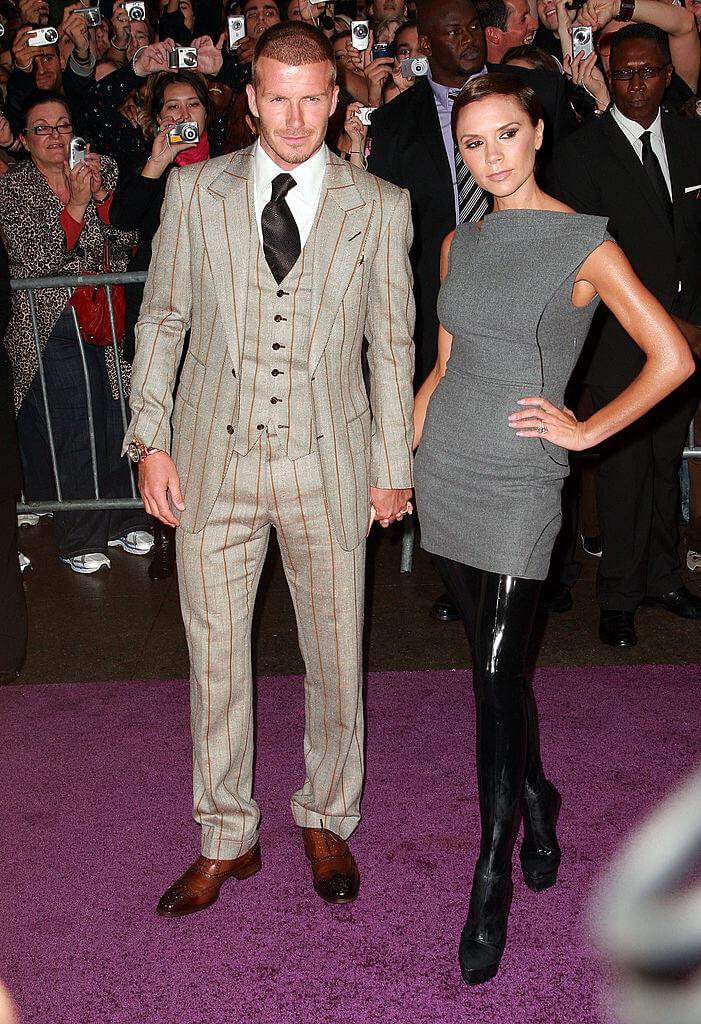 スーツ&スキンヘッドでチャラさが加速していたデヴィッド・ベッカム。