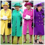 何色でも着こなす! エリザベス2世の   カラフルコレクション