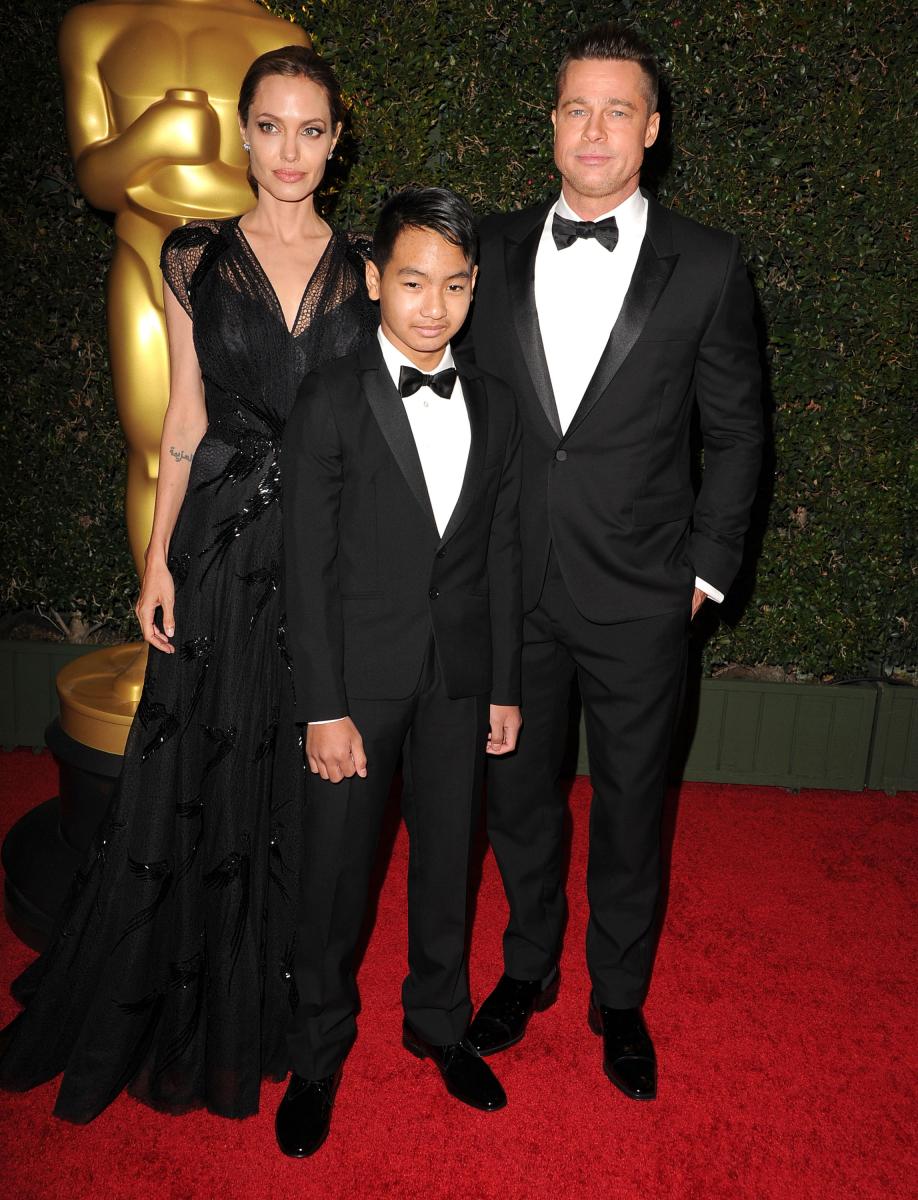 2013年11月、映画業界の発展に功績を残した人物に贈られるアカデミー特別賞のジーン・ハーショルト友愛賞を受賞。人道支援活動を通じた映画界への貢献が認められたもので、授賞式には前年に婚約したブラッド&長男マドックスも出席。