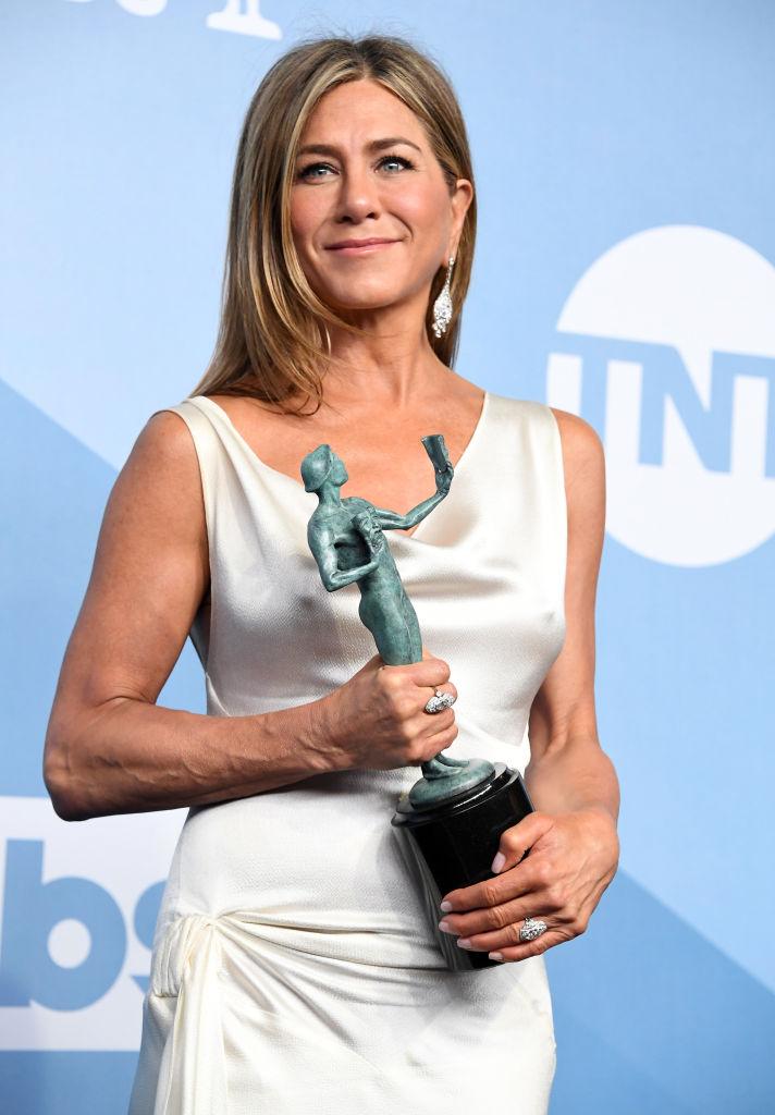 ジェニファーは『ザ・モーニング・ショー』で主演女優賞(テレビドラマ部門)に輝いた。