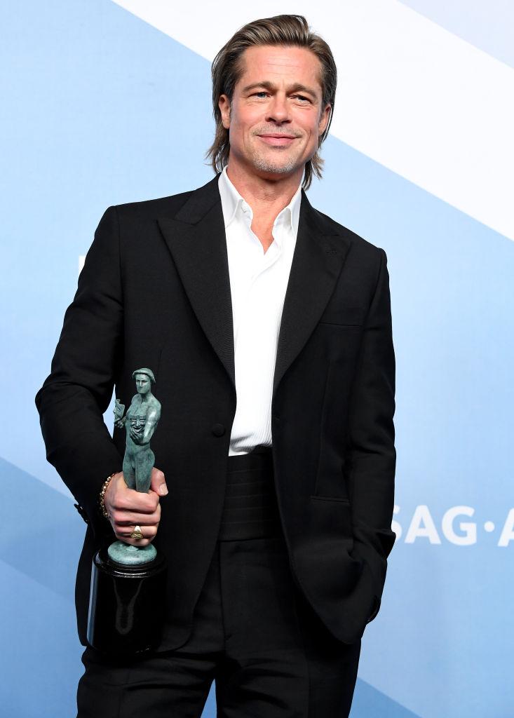 ブラッドは映画『ワンス・アポン・ア・タイム・イン・ハリウッド』で助演男優賞を受賞。