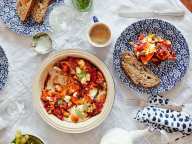 """デザイナー、モリー・ゴダードのお気に入り朝食レシピ 簡単でおいしい""""おしゃれ卵料理"""""""
