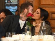 ベッカム夫妻、公の場で堂々とキス! 今年結婚20周年を迎えるも変わらぬアツアツぶりに世界中が羨望