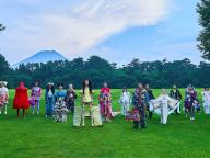 """山本寛斎の思いを未来に繋ぐ、""""世界遺産ランウェイin富士山"""""""