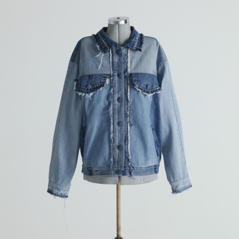 ヴィンテージデニムで作る、オンリーワンのジャケット