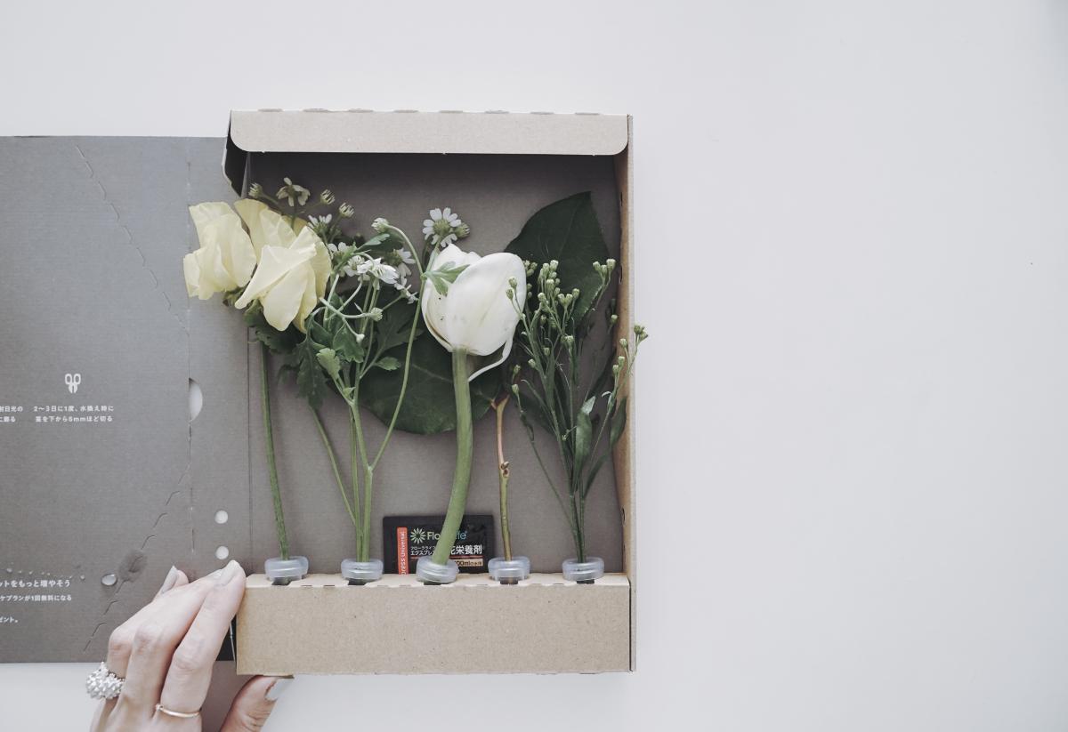の サブスク 花