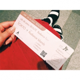 クレ・ド・ポー ボーテのラディアンスツアーへ【ゲストブログ:スタイリスト・宇藤えみ】