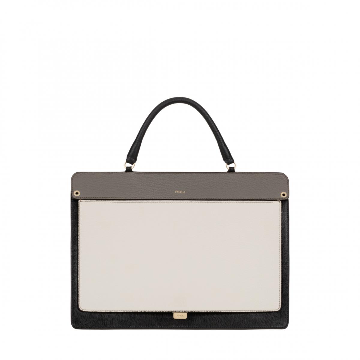 ハンドバッグ「LIKE」Mサイズ¥62,000〜¥90,000(H25×W34×D16cm)