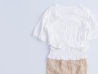 スタイリングを変えながら着ていたドレス/宮下絵美さん