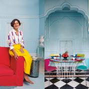 マリーエレーヌ・ドゥ・タイヤックが愛する家と街 夢見るジャイプール TOPへ