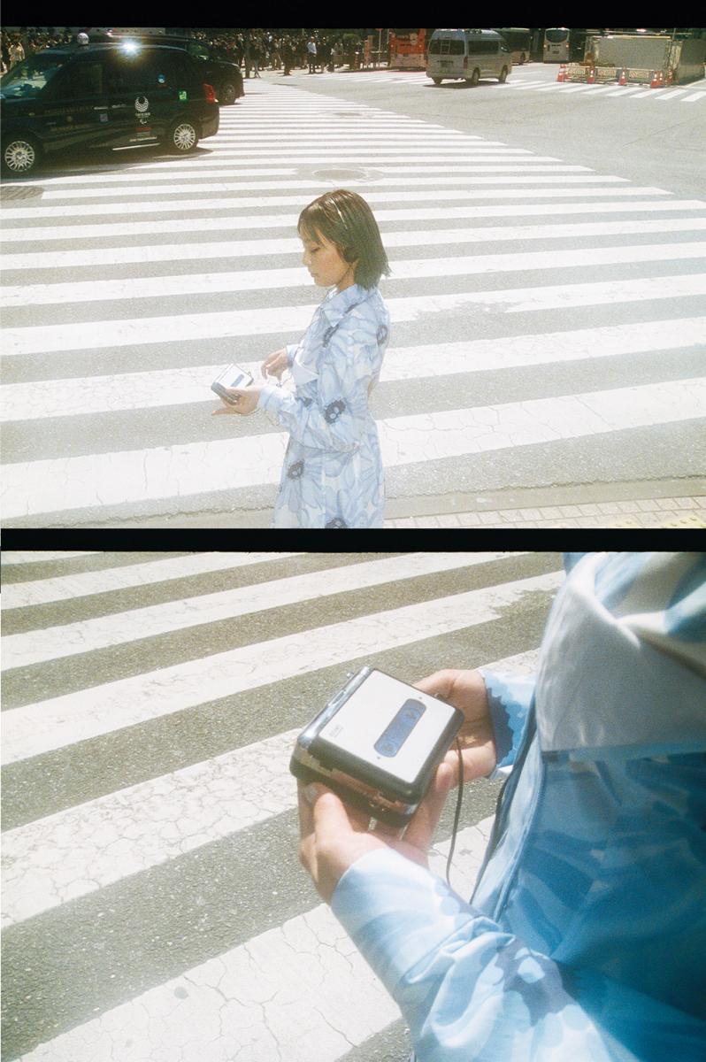 カセットプレーヤーと今の渋谷の街を歩けば