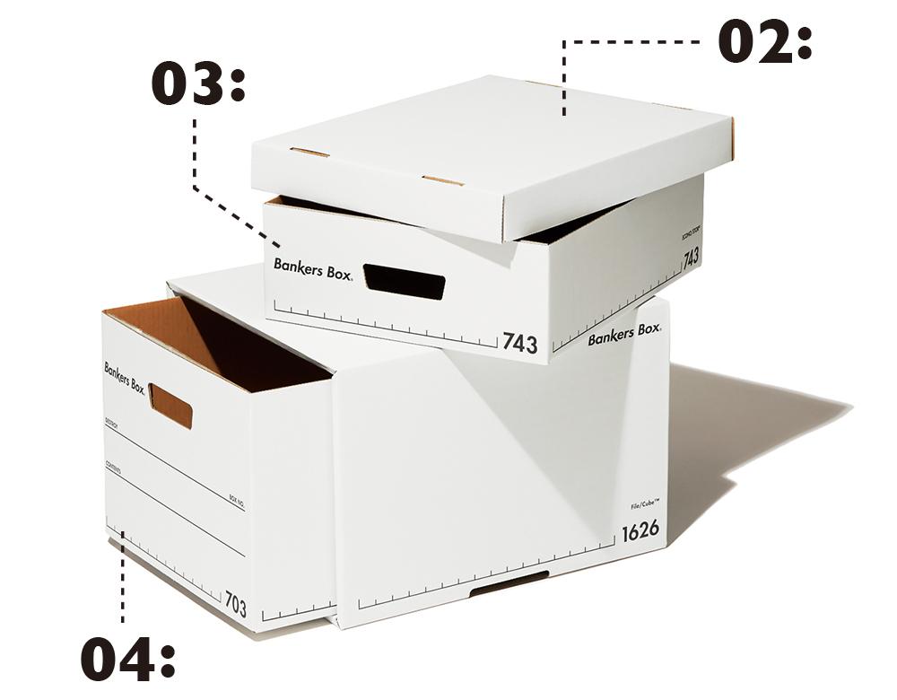②③④Fellowes/ 743Sボックス バンカーズ ボックス スタンダード・1626Sファイルキューブバンカーズボックススタンダード・703Sボックス バンカーズ ボックス スタンダード(編集 S)