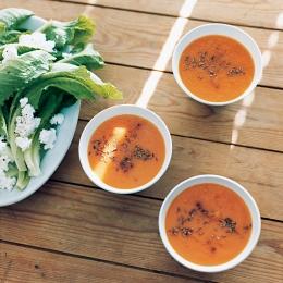 にんじんのポタージュ スパイス風味 - 今月のスープ | vol. 02